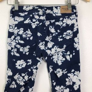 3/$20 Abercrombie Floral Skinny Jeans